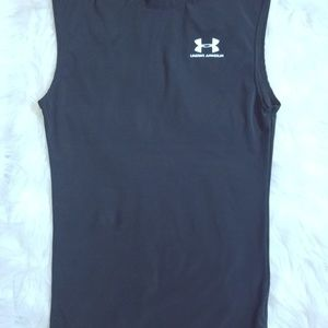 Black Under Armour Workout top